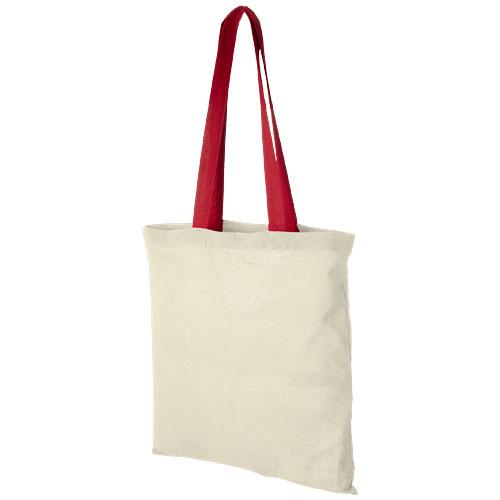 Mulepose med tryk, farvet hank, model Nevada rod