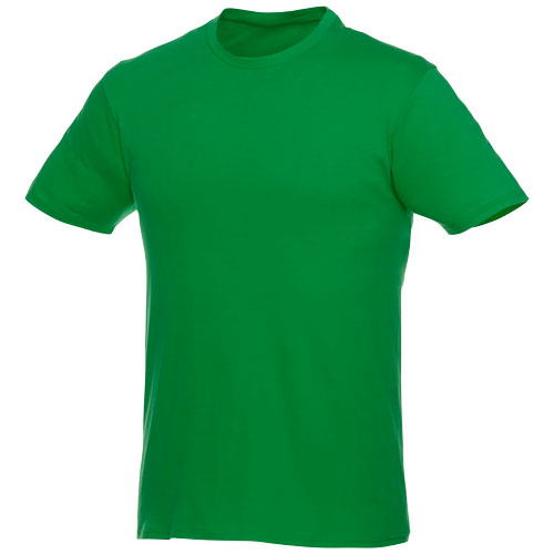 Basis t-shirt med logo, herre, model Hero fern green