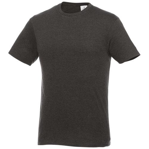 Basis t-shirt med logo, herre, model Hero graa