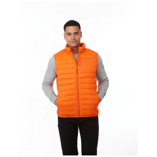 Basis vest med logo, model Pallas orange