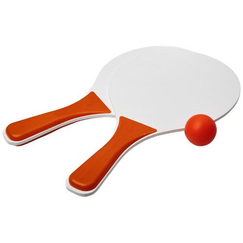 Strandtennis med logo, model Bounce Beach orange