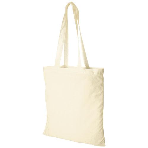 Mulepose med tryk model Carolina natur