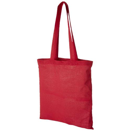 Mulepose med tryk model Carolina rød