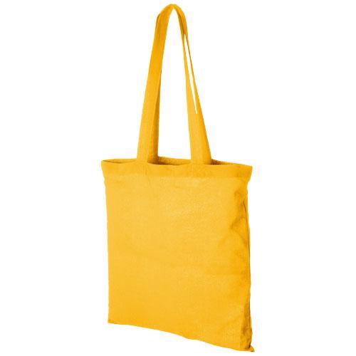 Mulepose med tryk model Carolina gul