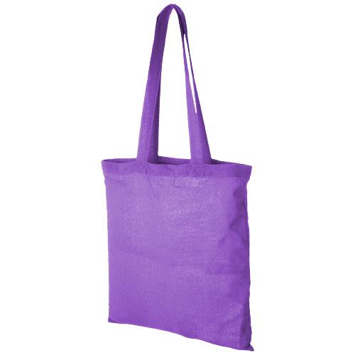 Mulepose med tryk model Carolina lilla