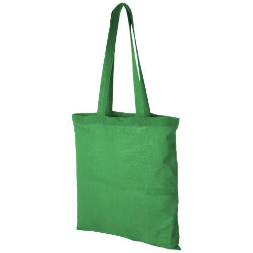 Mulepose med tryk model Carolina grøn