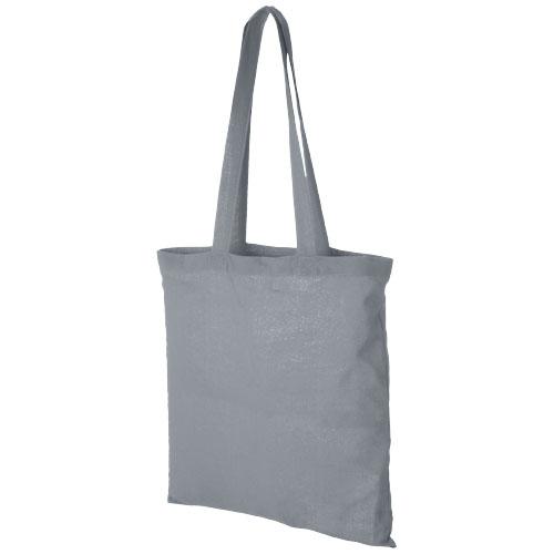 Mulepose med tryk model Carolina grå