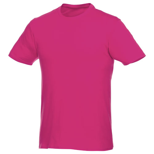 Basis t-shirt med logo, herre, model Hero magenta