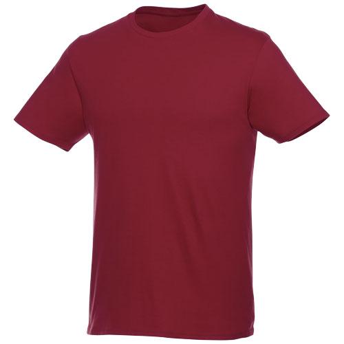 Basis t-shirt med logo, herre, model Hero bourgogne