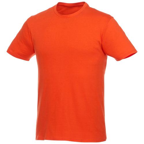 Basis t-shirt med logo, herre, model Hero orange