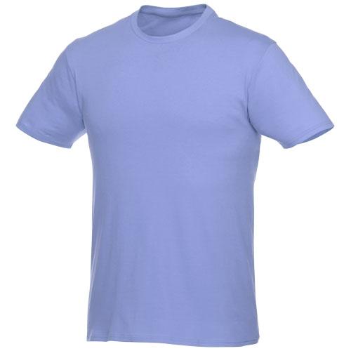 Basis t-shirt med logo, herre, model Hero lyseblå