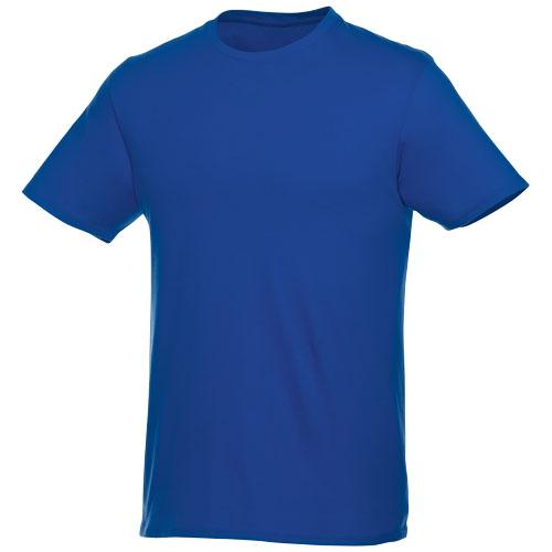Basis t-shirt med logo, herre, model Hero blå