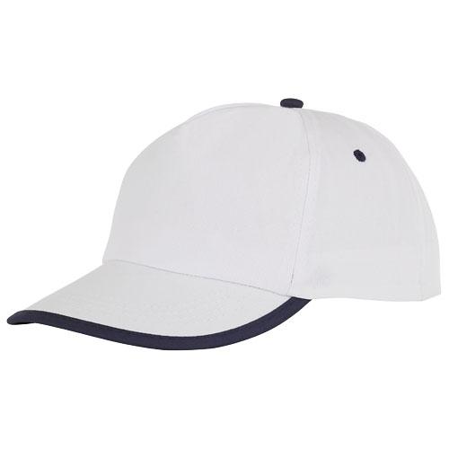 Cap med logo, model Nestor hvid