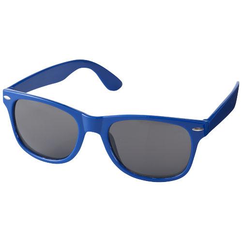 Solbriller med logo, model Sun Ray blå