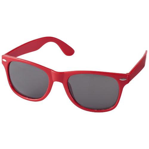 Solbriller med logo, model Sun Ray rød