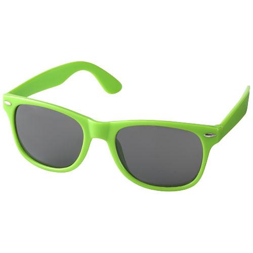 Solbriller med logo, model Sun Ray lime