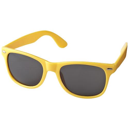 Solbriller med logo, model Sun Ray gul