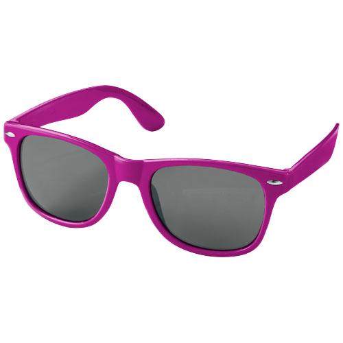 Solbriller med logo, model Sun Ray magenta