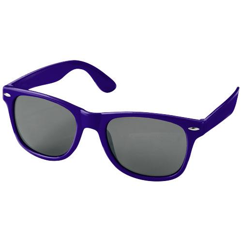Solbriller med logo, model Sun Ray lilla