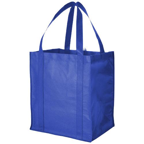Indkøbspose med tryk, model Liberty kongeblå