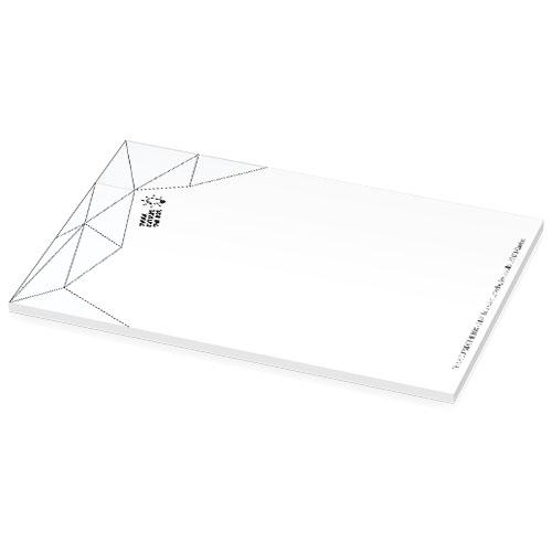 Notesblok med logo, A5, model Budget