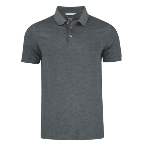 Sports polo med logo, model Advantage, Cutter&Buck melange