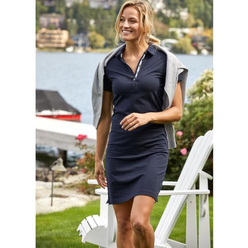 Polo kjole med logo, model Advantage, Cutter&Buck