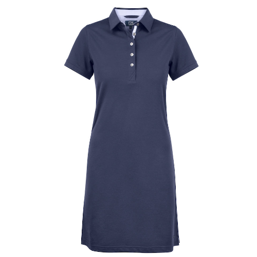 Polo kjole med logo, model Advantage, Cutter&Buck navy