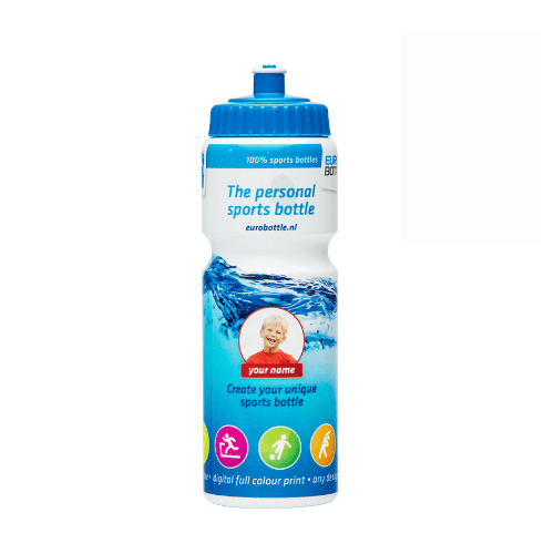 EUROBOTTLE drikkedunk med logo, 750 ml, model Team