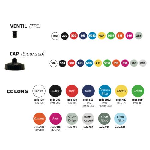 Eurobottle drikkedunk farver