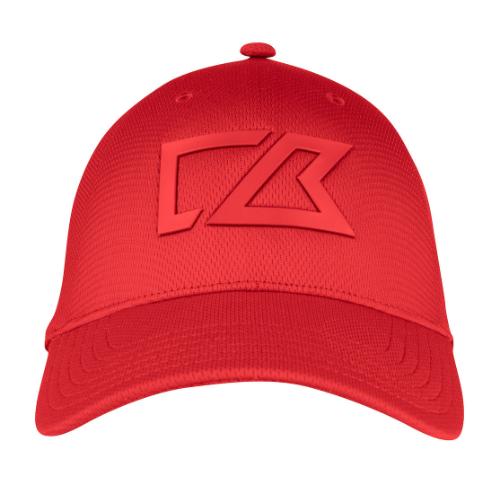 Cap med Cutter & Buck logo, model Gamble Sands rød