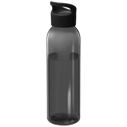 Vandflaske med logo, 650 ml, model Sky sort
