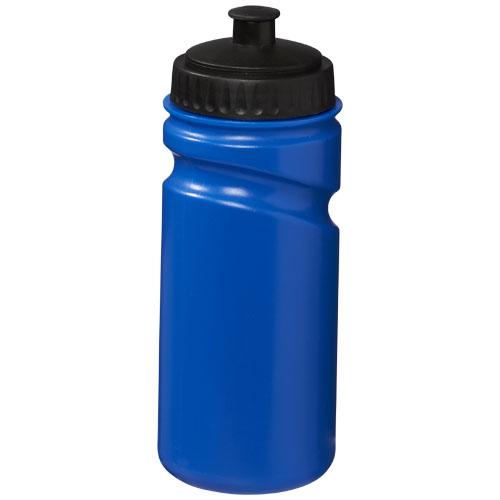 Basis drikkedunk med logo, 500 ml, model Basic blå