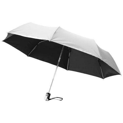 Paraply med logo model alex sølv