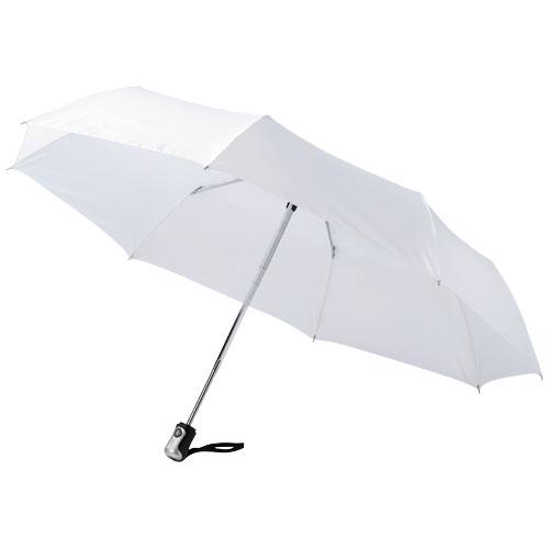Paraply med logo model alex hvid