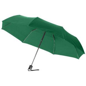 Paraply med logo model alex grøn