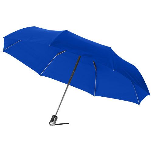 Paraply med logo model alex blå