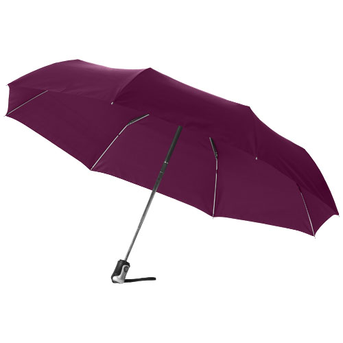 Paraply med logo model alex bordeaux