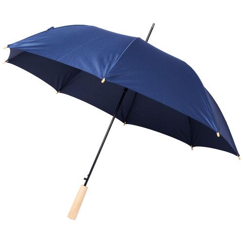 Paraply med logo model Alina RPET blå