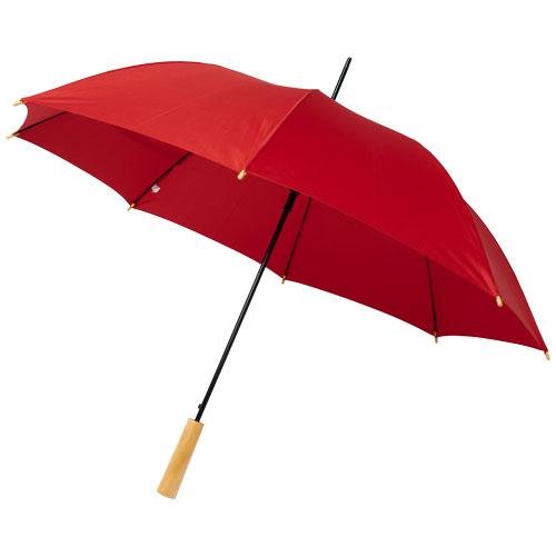 Paraply med logo model Alina RPET rød