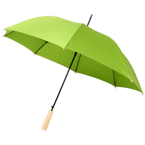 Paraply med logo model Alina RPET lime