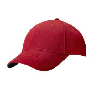 Callaway golf cap med broderi rød