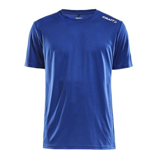 Sports t-shirt med logo, herre, model Rush SS, Craft kongeblå