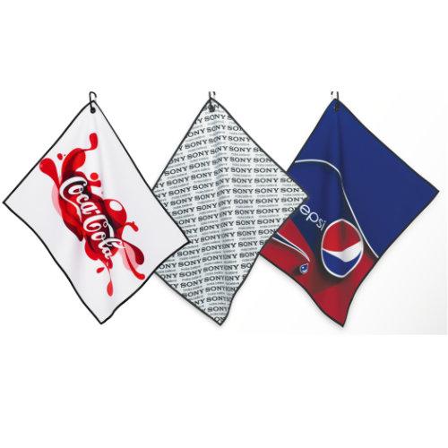 Golf håndklæde med logo, model Dormi Players