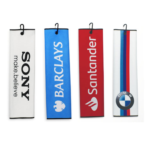 Golf håndklæde med logo, Tri Fold, model Dormi Tri