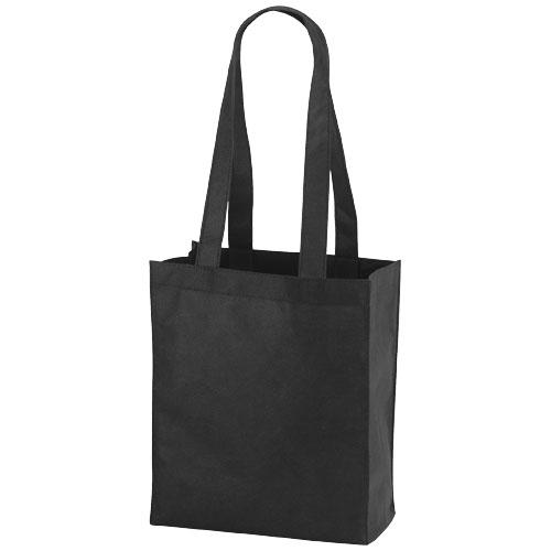 Mini mulepose med tryk, model Mini Elm sort