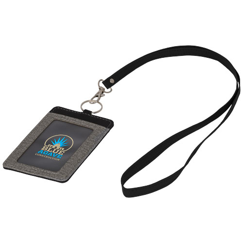 ID kort holder med logo og keyhanger, model Eye