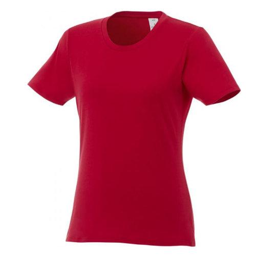 Basis t-shirt med logo, dame, model Hero rød