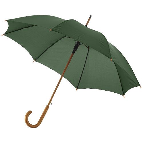 Paraply med logo model Kyle grøn