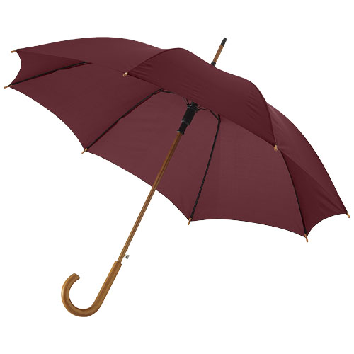 Paraply med logo model Kyle rød